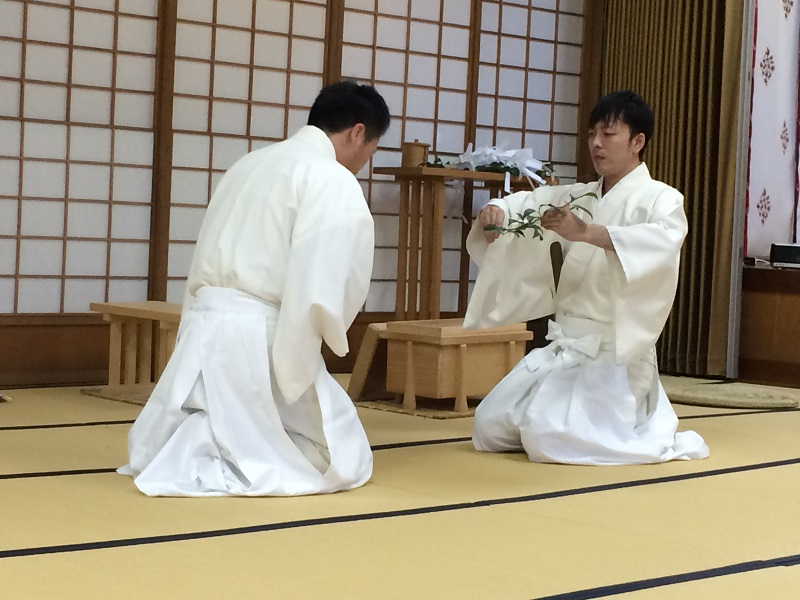 祭式研修会(山形県神道青年会)   山形県神社庁