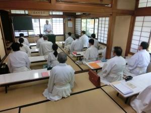 神職奉務心得に関する講義1